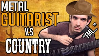 Metal Guitarist Tries Learning Country