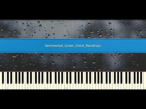 ♪ Jeon Soo Yeon: Silent raindrop (Piano Tutorial)