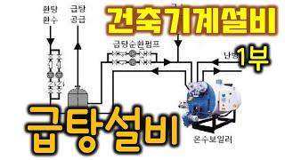 [건축기계설비]  급탕설비 - 1부 (온도, 급탕량, …