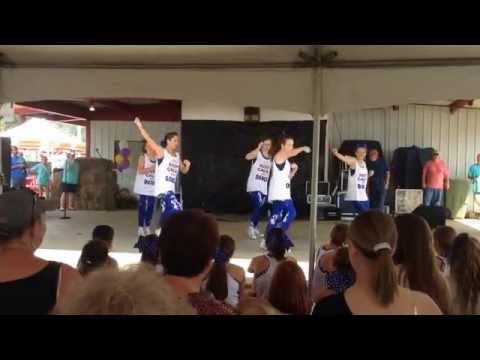15-16 Crenshaw Christian Academy Dance Team. Perform Peanut Festival