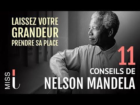 NELSON MANDELA : 11 Conseils Pour Réussir Sa Vie (Motivation Francais)