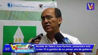Alcaldía de Valera, invita a presentación del 1er año de gestión del Alcalde José Karkom