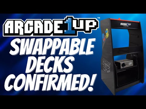 Swappable Control Decks for Arcade1Up Projectorcade Confirmed! But Is this Product Dead On Arrival? from PDubs Arcade Loft