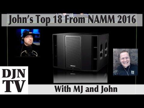 Top 18 Gear Picks of #NAMM2016 | Disc Jockey News | with MJ and John #DJNTV