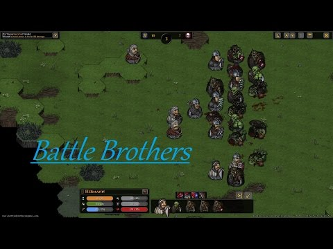 Battle Brothers Part 35 Bandit And Orc Camps