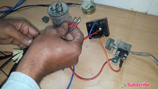 Window AC Wiring connection ( Hindi and Urdu )