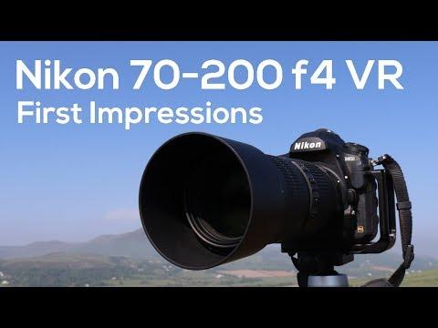Nikon 70-200mm f4 VR First Impressions | Landscape Photography
