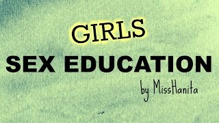 SEX EDUCATION (for moms and girls)