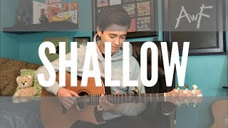 Shallow - Lady Gaga, Bradley Cooper - (A Star Is Born) Cover (fingerstyle guitar) Video