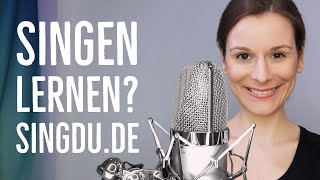 Willkommen bei SingDu.de - Kanalvorstellung - singen lernen online - Einsingen online