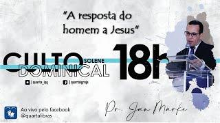 A resposta do homem a Jesus
