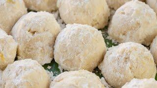 Snowball Lemon Drop Cookies  Simply Bakings