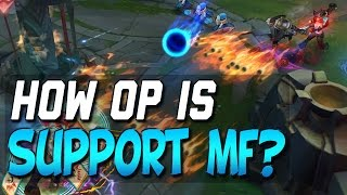 Is Support Miss Fortune OP? How to Win and Not Feed - Actual Guide (League of Legends)