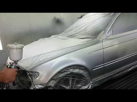 PPG D880 clear Iwata ws400 1.4HD, base ls400 , paint code 354 BMW