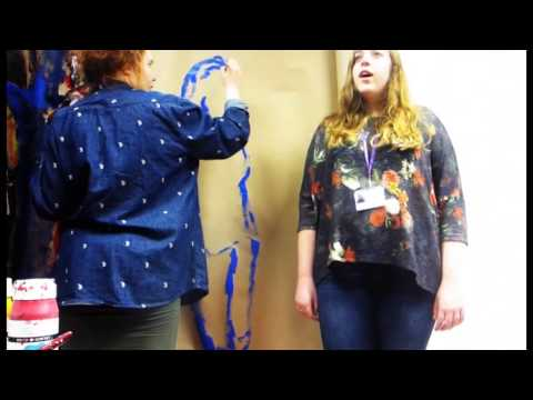 The Making of Marianne's Wall Art New College Stamford