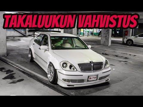TAKALUUKUN VAHVISTAMINEN -Toyota Brevis