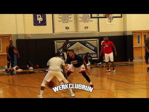 Marcus Banks Troy Brown Jr Pierre Jackson Highlights at Werk Club Run 17