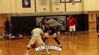 Marcus Banks Troy Brown Jr Pierre Jackson Highlights at Werk Club Run 17' Week 1