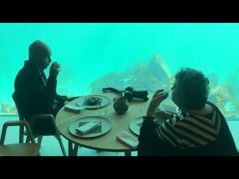 Unterwasser-Restaurant: Wie im Aquarium – nur umgekehrt!
