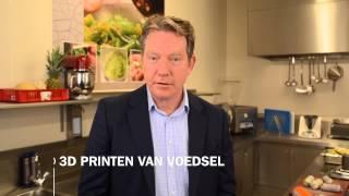 Huuskes: 3D-geprint Voedsel Voor Mensen Met Slik- En Kauwproblemen