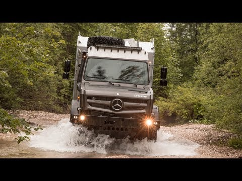 2017 Mercedes-Benz Unimog - the ultimate unstoppable machine? | First Drive