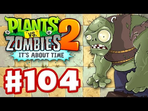 Thumbnail: Plants vs. Zombies 2: It's About Time - Gameplay Walkthrough Part 104 - Gargantuar Update! (iOS)