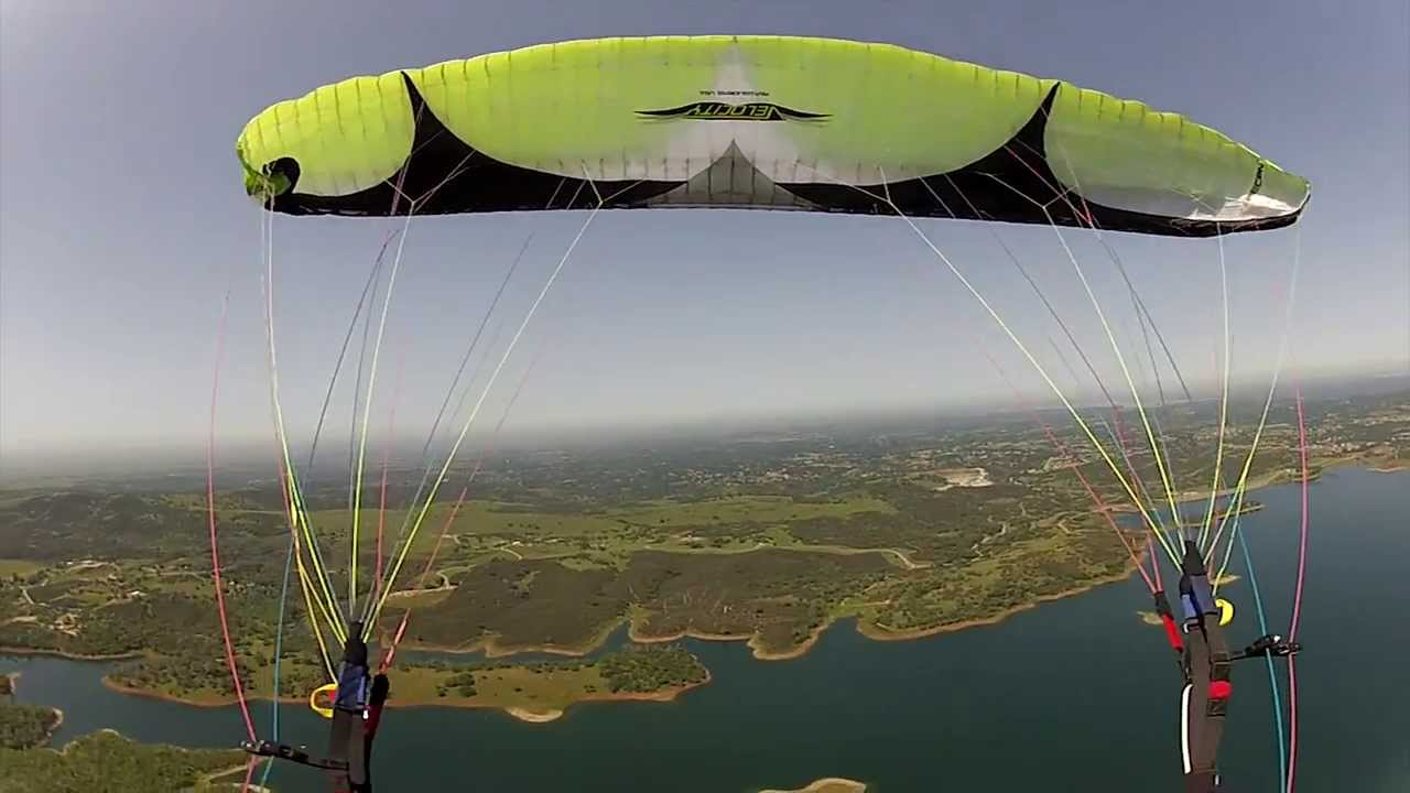 Powered Paragliding Lessons &amp- Training With BlackHawk Paramotors ...