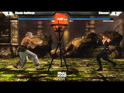 Dead or Alive 5 Top 8 ShadeSwifteye vs Chosen1 - Final Round