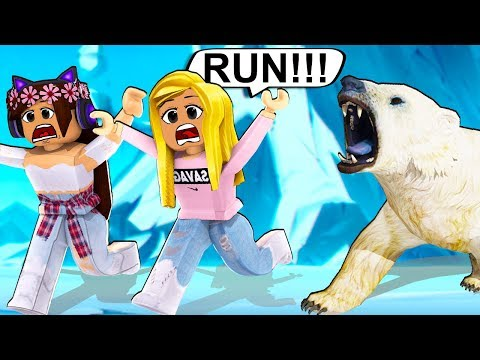 SURVIVE FROM THE POLARBEAR IN EPIC MINIGAMES! (Roblox)