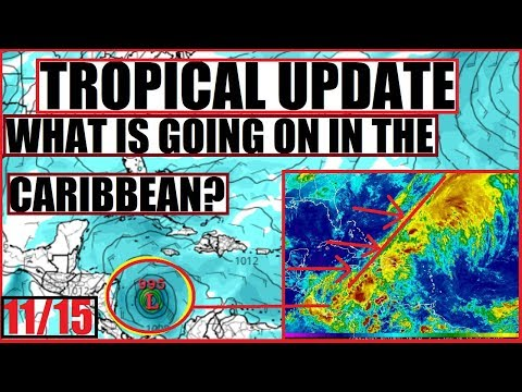 TROPICAL Update! Whats going on in the Caribbean?! Tropical Storm SEAN
