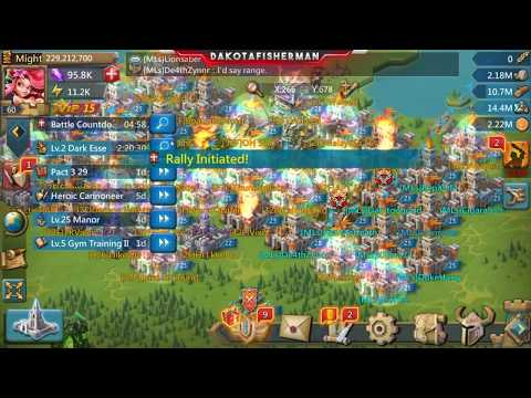 Lords Mobile: Rally weekend - Non-Stop rallies, getting zeroes and zeroed!