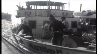 Led na Dunavu kod Dalja i mađarski ledolomci