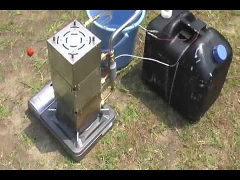 カセットコンロで簡易瞬間湯沸かし61℃ Simple Hot Water Heater Youtube