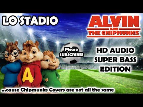 Lo Stadio [RELOADED] (Alvin And Chipmunks HD COVER) - Tiziano Ferro - NO ROBOTIC VOICES