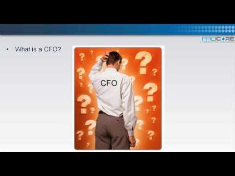 You still don't have a CFO (Chief Financial Officer)