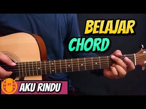 Belajar Chord Gitar Bastian Steel - Aku Rindu l Full Tutorial