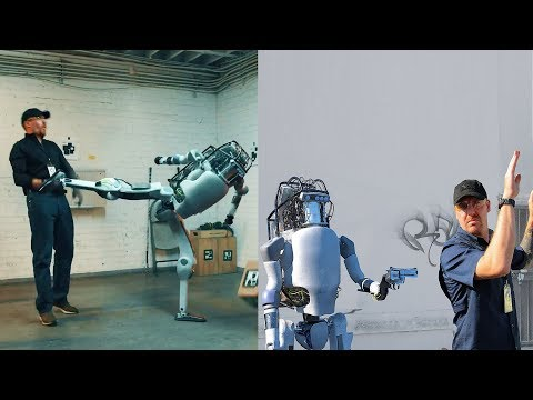 If Humanoid Robots Fight Back What'll Happen? Boston Dynamics: New Robots Now Fight Back