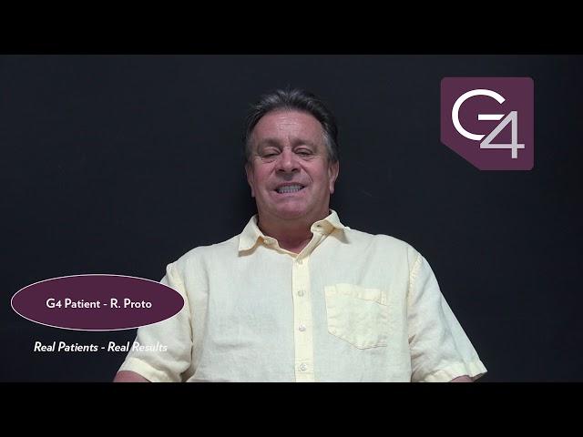 G4 By Golpa Patient Testimonial - R. Proto