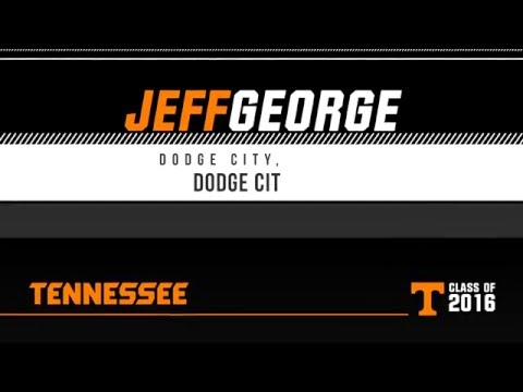 Tennessee Welcomes Jeff George On 2015 JUCO Signing Day