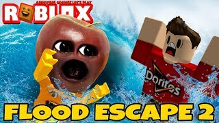 Roblox: Flood Escape 2 🌊 🍎 [Midget Apple Plays]