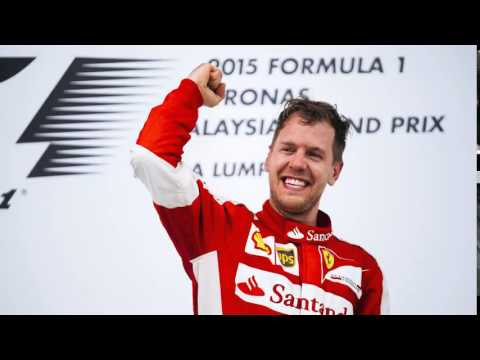 GP Malesia 29/03/15 - La joie de Sebastian Vettel