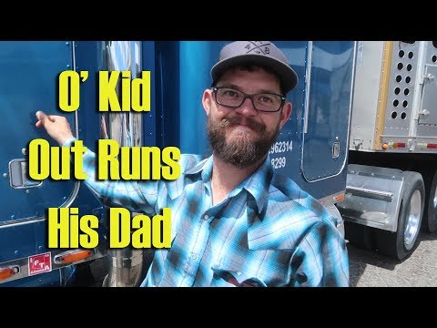 O' Kid Out Runs His Dad