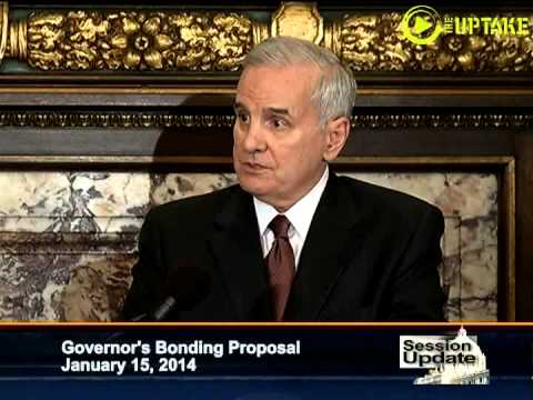 Gov Dayton's Bonding Proposal - Full News Conference