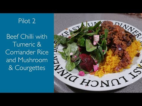 Beef Chilli with Tumeric Rice | Pilot 2