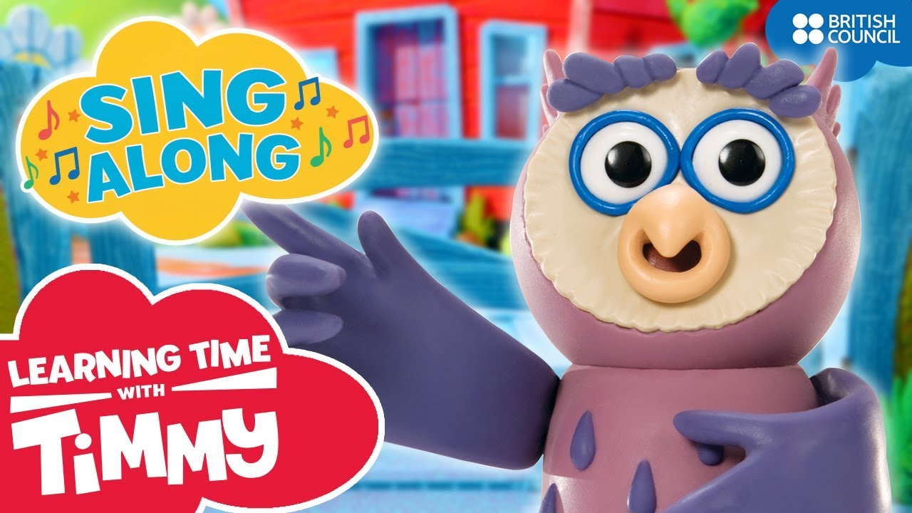 Old Owl Osbourne (Old MacDonald remix) Singalong | Learning Time with Timmy | Nursery Rhymes