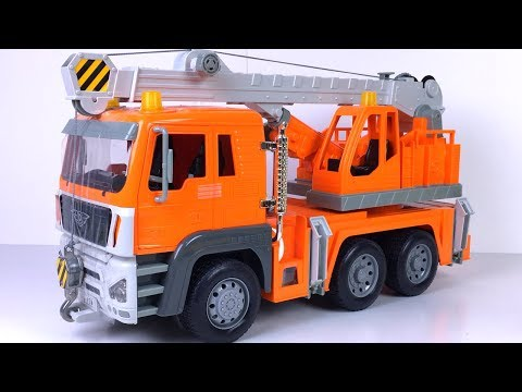 COLLECTION DRIVEN MIGHTY MACHINES WITH CRANE DUMP TRUCK TOW TRUCK DUMP TRUCK BULLDOZER &  BLIND BOX