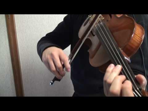 【東方/ TOUHOU】 Bad Apple!! Violin 【ヴァイオリン弾いてみた】