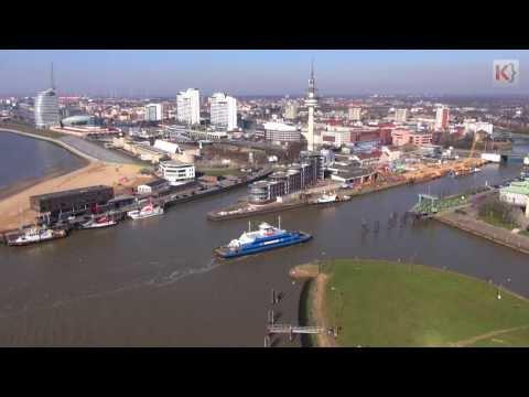 Filmdrohne Bremerhaven