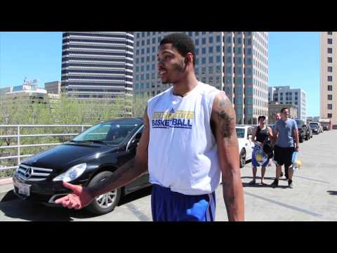 With Kent Bazemore's return to Golden State, here's a rookie prank as some of the 2013 Warriors fill his car with popcorn.