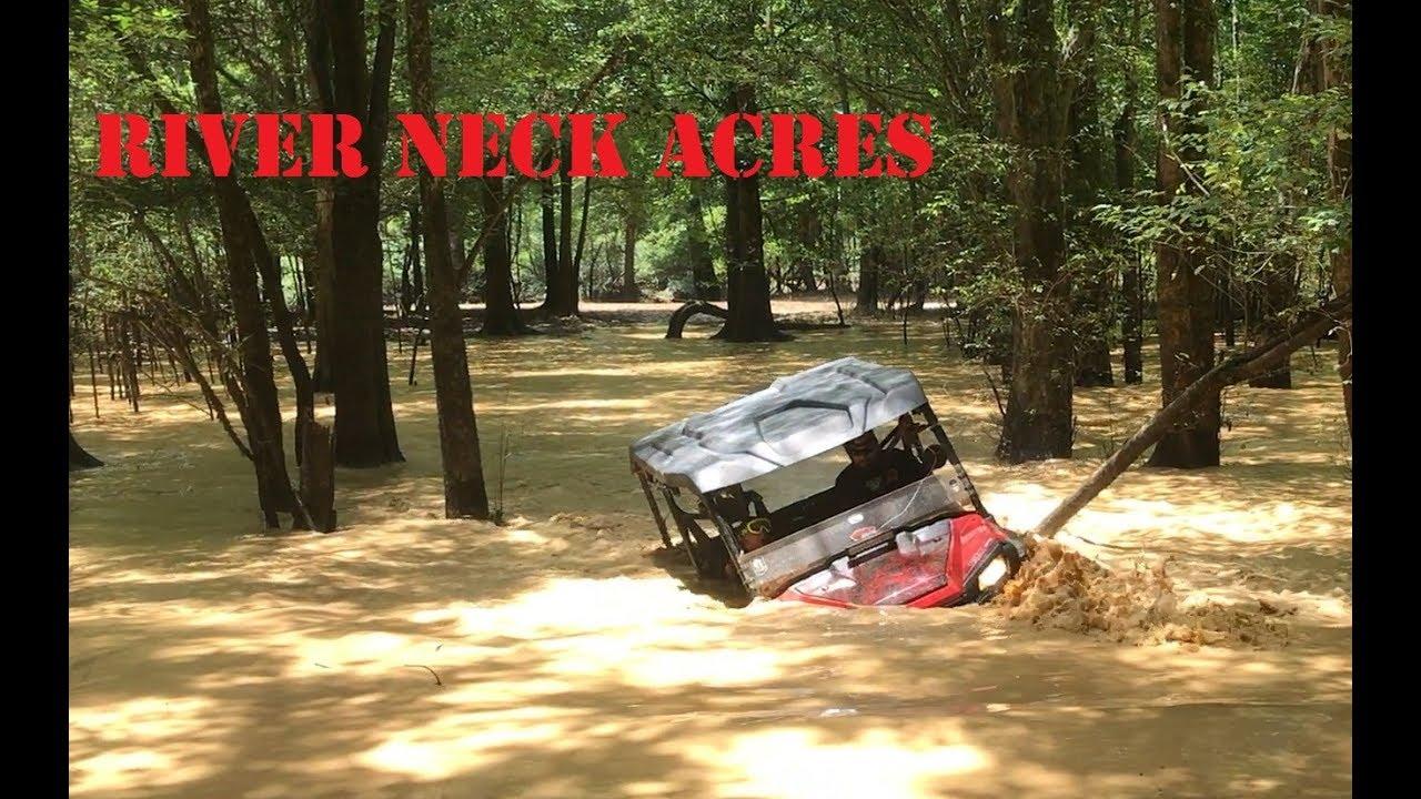 River Neck ATV park- Pioneer 1000 goes deep - YouTube